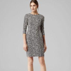 Reiss Toulon iLeopard Dress Women Size 2